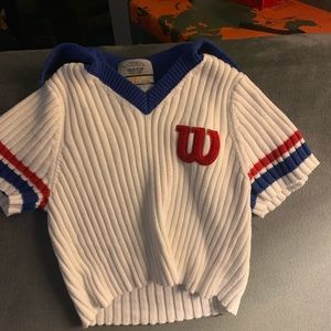 Wilson sweater crop top